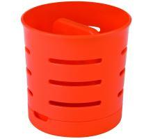 Odkapávač na příbory oranžový