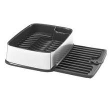 Odkapávač obdelníkový na nádobí - stříbrný