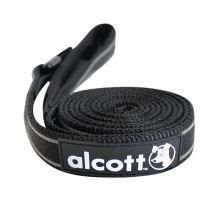 Alcott vodítko pro psy černé, velikost L