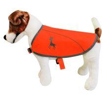 Alcott reflexní vesta pro psy oranžová, velikost S