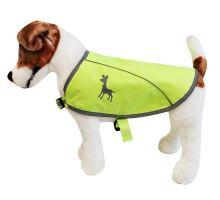 Alcott reflexní vesta pro psy žlutá, velikost M
